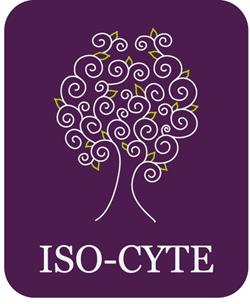 LOGO ISO-CYTE Violeta 250px